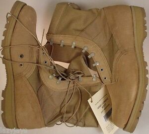 BELLEVILLE DST DESERT TAN HOT WEATHER ARMY BOOTS ( 14.5XW ) 14.5 EXTRA WIDE