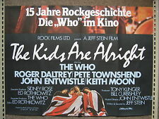 THE WHO - Poster : The Kids Are Alright (original Kinoplakat)