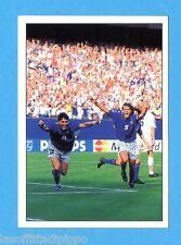 PANINI SUPERCALCIO 1994/95-Figurina n.P2- ITALIA#NORVEGIA 1-0 BAGGIO ESULTA-NEW