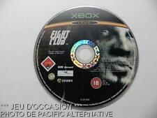 OCCASION en Loose jeu video FIGHT CLUB xbox microsoft game action combat #1