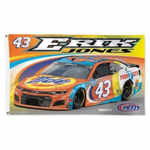 Erik Jones 2021 Wincraft #43 Tide 3x5 Deluxe Flag FREE SHIP