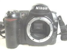 Nikon D50 6.1MP Digital SLR Camera - Black Body + Nikon carry strap, untested