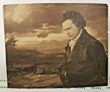 Beethoven Black And White Print Art Vintage