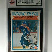 1982/83 Wayne Gretzky #107 OPEECHEE KSA 9 MINT