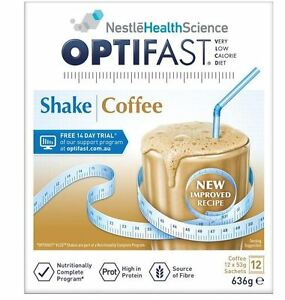 OPTIFAST VLCD SHAKE COFFEE 12 X 53G
