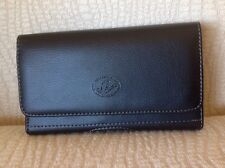 """(Cellphone Size 6""""x3.25""""x0.55"""") Leather Case Belt Clip & Loop Pouch Holder"""