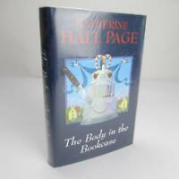 The Body in the Bookcase by Katherine Hall Page - 2007 Ex-library Good Hardback