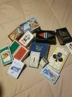 HUGE LOT OF VINTAGE PLAYING CARDS SOME SEALED, CASINOS, FOREIGN, SOUVENIR+++