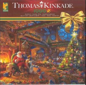 Thomas Kinkade 2018 Jigsaw Puzzle 3328-39 Santa's Workshop NIB