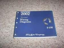 2002 Ford F150 Electrical Wiring Diagram Manual XL XLT Lighting Lariat V6 V8