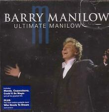 BARRY MANILOW Ultimate Manilow CD Europe Arista 2004 20 Track. Marks To Disc