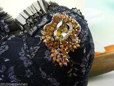 Markenlose Modeschmuck-Broschen & -Anstecknadeln aus Gelbgold für Damen