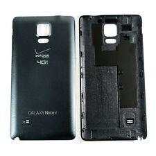 Housing Battery Back Door Cover Black for Verizon Samsung Galaxy Note 4 SM-N910