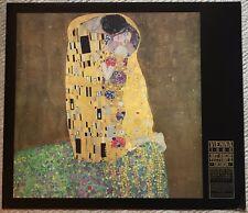 Gustav Klimt THE KISS Vintage Exhibition Print