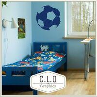 Football Wall Sticker Vinyl Art Transfer Sport Decor Soccer Ball Boy Room Decal