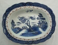 Booths Real Old Willow Vegetable Serving Bowl Dish