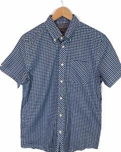 Ben Sherman Men's Short Sleeve Button Up Shirt - Size Small  Collar Buttons NWOT