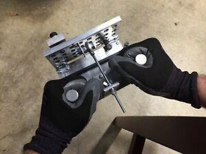 "New Design SM. KNIFE BEVEL JIG 6"" Aluminum Plunge Guide INC. Micro-Adj. Threads"