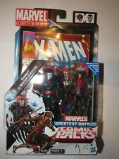 Marvel Universe 3.75 figure MR Sinister & Gambit Greatest Battles New