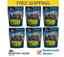 Mountain House Freeze Dried 6 Food Pouches- Lasagna with Meat Sauce - Pro-Pak