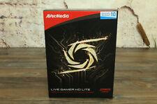 Avermedia Live Gamer HD LITE, Full HD, Windows 10. Aufnehmen Capture