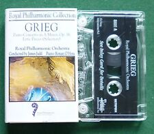 Royal Philharmonic Collection Grieg Piano Ronan O'Hora Cassette Tape - TESTED