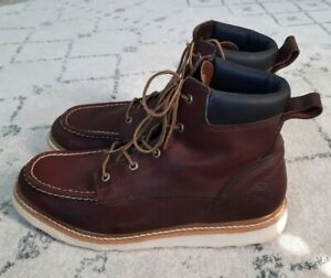 """Red Wing 13 Irish Setter Ashby 6"""" Brown Leather 83605 Work Moc Toe Boots ASTM"""