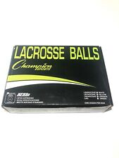 Champion Sports Official Lacrosse Balls, Pack of 12 Yellow Fast Shipping X