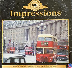 Puzzles: Impressions - Double Decker Buses
