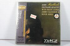 JOHN COLTRANE QUARTET: BALLADS ~ JAPAN MINI LP CD/ 20bit K2 HQ CD, ORIGINAL,RARE