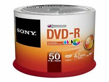 Sony Dvd-r 16xinkjet Print Spindle 50DMR47PP