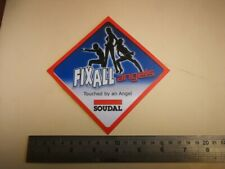 sticker SOUDAL PARTS FIX ALL ANGELS race GP F1 cross racing rally autocollant R6