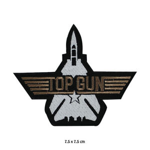 Top Gun  Movie Embroidered Patch Iron on Sew On Badge