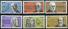 East Germany DDR 1981 SG#E2316-21 Celebrities MNH Set #A82235