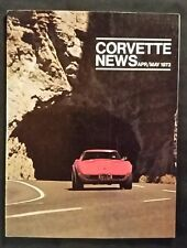 New listing 1973 Corvette News Magazine april may 1973