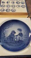 REDUCED!!!!Vintage MOTHER'S DAY Mors Dag 1982 SVEND JENSEN Dog Plate Collectible