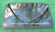 1989 ACURA LEGEND 4 DOOR YEAR SPECIFIC  FACTORY SUNROOF GLASS OEM FREE SHIPPING!