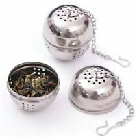 1x Small Stainless Steel Strainer Tea Infuser Filter Bag Reusable Seasoning Ball