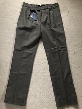 RALPH LAUREN Women's Grey Wool Trousers (US8-UK12/BNWT/RRP £225)