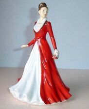 Royal Doulton JINGLE BELLS Pretty Ladies Petite Songs of Christmas Figure 5699