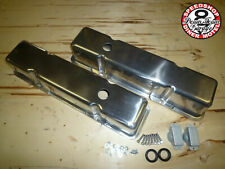 Chevrolet SmallBlock 283-327-350 5,7L V8 polish glatt ALUMINIUM Ventildeckel