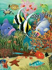 Jigsaw Puzzle Animal Fish in the Sea 300 EZ Grip pieces NEW Made in USA