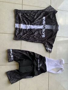 Men's Long Sleeve Cycling Jersey with Shorts
