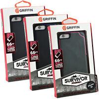 New Genuine Griffin Survivor Journey iPhone 6 iPhone 6S Rugged Slim Case Cover