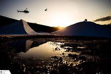 """Torin Yater Wallace Ski Poster Large 24 x 36"""" Big Air Flip Freeski Freestyle"""