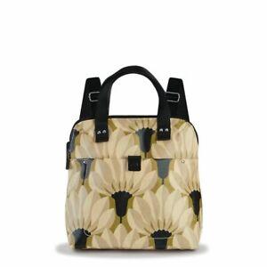 BNWT Oria Kiely Lichen Papyrus Print Buddy Travel Backpack