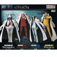One Piece High-Spec Coloring Figure 6 Sengoku Akainu Aokiji Kizaru Full 4 Set