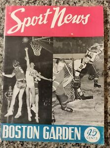 1947 1948 Boston Celtics Connie Simmons Sport News program Holy Cross Bob Cousy