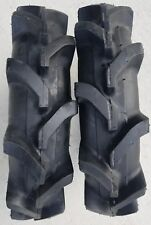 2 - 5-12 4P Deestone D413 G-W1 AG Super Lug Tires Tractor Traction TubeType R-1
