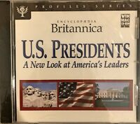 Encyclopedia Britannica U.S. Presidents Pc Brand New Sealed Free US Ship Nice